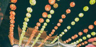 掛風燈 迎新春